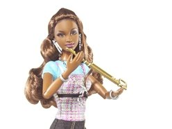 image of new black barbie