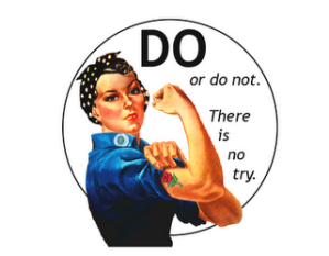 Pin featuring Rosie the Riveter