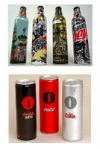 Mountain Dew and Coke cans