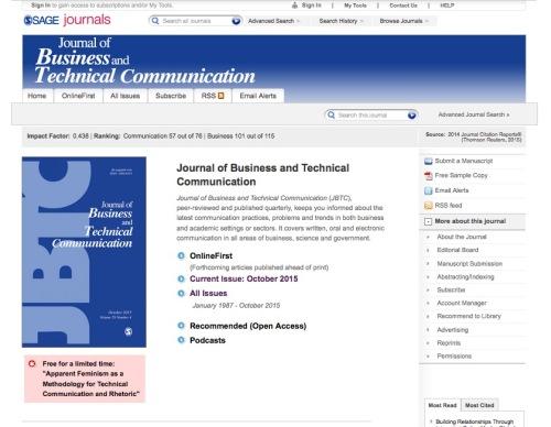 screenshot of JBTC website